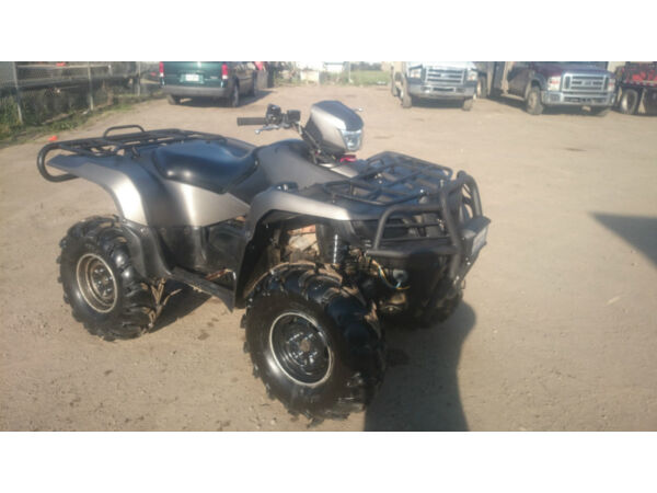 2007 Suzuki king quad