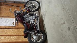 Cruiser bobber motorcycle