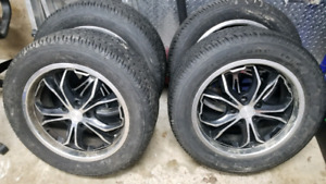 225/55R17 ALL SEASONS 5X114.3 RIMS 17INCH