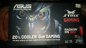 R9 380 ASUS Strix 4gb (2 available)