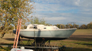 1979  27 foot Pearson sailboat for sale