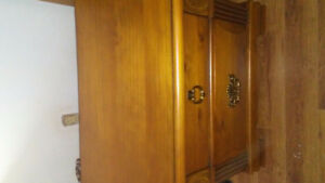 ***Real, Solid Wood: 4 dresser tall boy, brand new- w/***