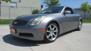 2003 Infiniti G35 Coupe, Auto, Leather,roof, Warranty available.