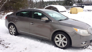 Fully equipped Buick lacrosse.