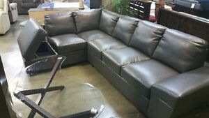 Sectional sofa with chaise, storage, 3 colors to choose from,NEW