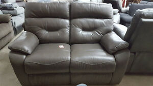 Brown Reclining Love Seat - Delivery Available