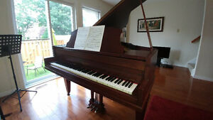 Opportunity - Antique Baby Grand Piano - Ivers & Pond of Boston
