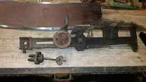 Antique woodworking mortise machine  London Ontario image 5