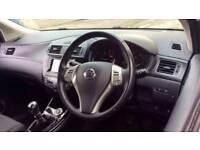 2015 Nissan Pulsar 1.5 dCi N-Tec 5dr Manual Diesel Hatchback