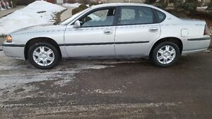2001 Chev Impala only 82.000km drive like new  $3800 Senior own