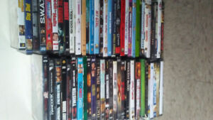 150 dvds dvd player and remote