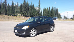 2005 Toyota Matrix XRS 6 Speed Manual