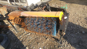 Bobcat sweeper attachment works great