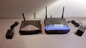Linksys WiFi Wireless Internet Router Gateway / Routeur Linksys