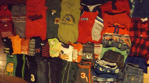 Lot of size 3 & 4 Boys Clothing (40 ITEMS)