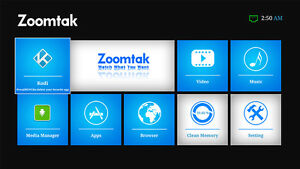 Octacore ZOOMTAK Android Box