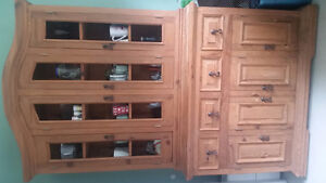 SOLID WOOD HUTCH FROM MEXICO
