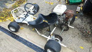 Go kart with 9hp