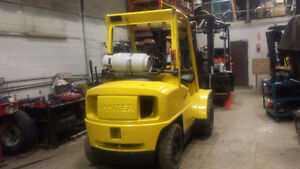 2000 Hyster Pneumatic Forklift For Sale