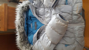 Eddie Bauer goose down filled coat