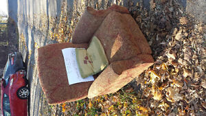 Free comfy reclining chair Peterborough Peterborough Area image 1
