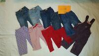 12-18 Months Girls Pants / Pantalons