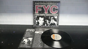 1988 FYC Fine Young Cannibals The Raw & the Cooked Record Album Sarnia Sarnia Area image 1