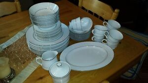 43 pc. china set