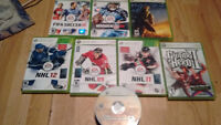 Jeux xbox360 games FIFA halo nhl guitar hero call of duty