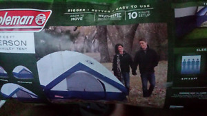 Tent and air mattress
