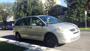 2004 Toyota Sienna  with winter tires set, PRICED TO SELL
