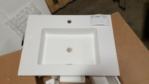 ABOVE COUNTER WHITE BATHROOM SINK - ST-2921