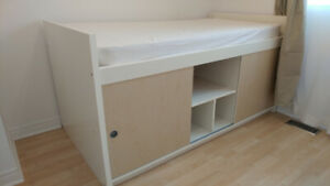 Captain Ikea single bed with storage