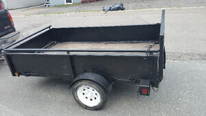 4x8 trailer lightweight trailer (needs to be re licensed