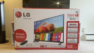 "LG SMART TV CINEMA 3D 50""LB6500"