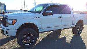 2009 Ford F-150 Lifted Platinum Edition-Swap/trade