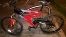 Raleigh Fuego full suspension bicycle bike