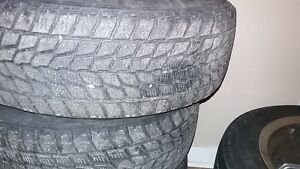 185/70-14 winter tires and wheels m/s