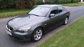 2006 '56' BMW 525 DIESEL SE AUTO *** FSH, NEW MOT, FULL LEATHER, BLUETOOTH ***