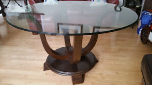 Gorgeous Tempered Glass Table!