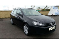 2012 VW GOLF ESTATE 1.6 TDI BlueMotion 1 OWNER FSH