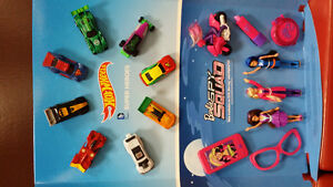 Limited edition hot wheel and barbie toys - price negotiable