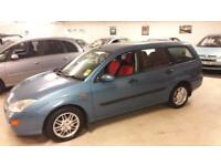 Ford Focus 1.8TDdi 2000MY Ghia very low miles for year 121,630 01603 622313