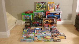 Unopened, remote control cars,toys,cars games lego, puzzles