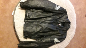 Leather Honda motorcycle jacket