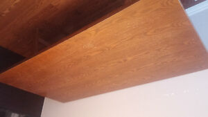 Solid Teak Wood dining table set 6 chairs London Ontario image 2