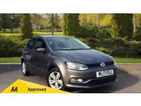 2017 Volkswagen Polo 1.2 TSI Match Edition 3dr Manual Petrol Hatchback