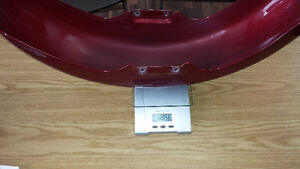 Fenders ailes red harley davidson front 165MM West Island Greater Montréal image 7