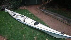 Mirage 580 Sea Kayak with Fishing Accessories - $1,500 neg. Wulguru Townsville City Preview