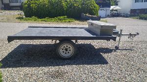 10' x 6.5' flatdeck trailer